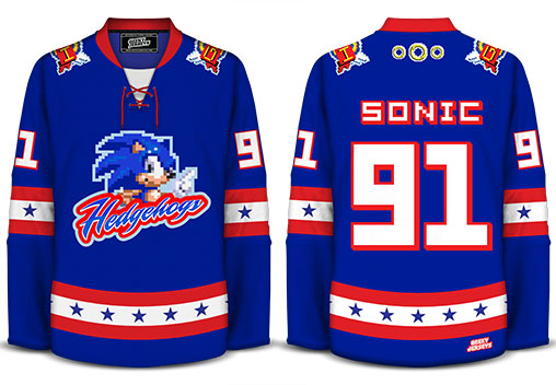 Geeky Jerseys Only Available For A Limted Time Hedgehogs