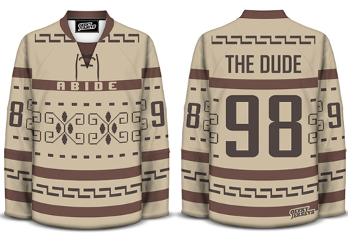 Geeky Jerseys - The Dude
